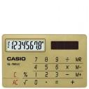 CASİO - CASIO SL-760LC-GD CEP TİPİ HESAP MAKİNESİ 8 HANELİ
