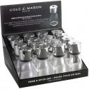 COLE & MASON - Cole & Mason H102189 Cam Baharatlık (Stand 16 Adet)