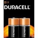 DURACELL - DURACELL D BÜYÜK BOY PİL 2'Lİ KARTELA