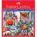 FABER-CASTELL - FABER PASTEL BOYA KARTON KUTU 24 RENK