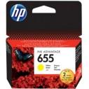 HP - HP CZ112A MÜREKKEP KARTUŞ SARI (655)