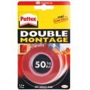 PATTEX - PATTEX DOUBLE MONTAGE 19mm x1,5mt 120kg (1484916)