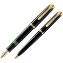 PELİKAN - Pelikan Dolma + Tükenmez Kalem Souveran MK300 Siyah