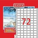 TANEX - TANEX 17x25mm BİLGİSAYAR ETİKETİ