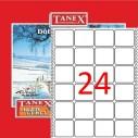 TANEX - TANEX 35x45mm BİLGİSAYAR ETİKETİ