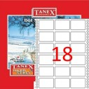 TANEX - TANEX 35x55mm BİLGİSAYAR ETİKETİ