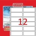 TANEX - TANEX 35x97mm BİLGİSAYAR ETİKETİ