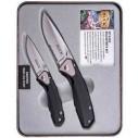 BUCK KNIFE - Buck 11818 351 & 352 Testere Ağızlı Çakı Seti (Metal Kutu)