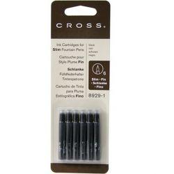 CROSS - Cross İnce Kartuş Siyah 8929-1