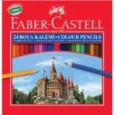 FABER-CASTELL - FABER KARTON KUTU BOYA KALEMİ 24 RENK TAM BOY
