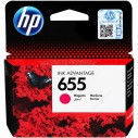 HP - HP CZ111A MÜREKKEP KARTUŞ KIRMIZI (655)