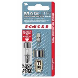 MAGLITE - MAGLITE MAGNUM STAR II 5 CELL XENON AMPUL LMXA501
