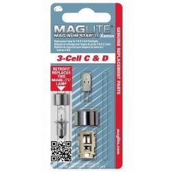 MAGLITE - MAGLITE MAGNUM STAR II 3 CELL XENON AMPUL LMXA301