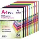MAPİ - MAPI PVC A4 CİLT KAPAĞI YEŞİL 100 ADET