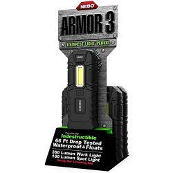 NEBO - Nebo 6526 Armor 3 360 Lümen LED Fener 16lı Stand (Tek Adet)