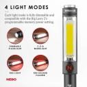 NEBO - Nebo 6737 Big Larry 2 500 Lümen LED Fener 14lü Stand (Tek Adet) (1)