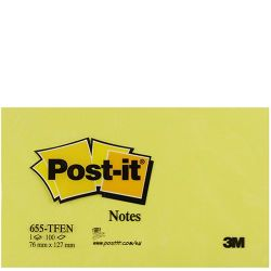 POST-İT - POST-IT 655 (76x127 mm)