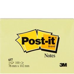 POST-IT - POST-IT 657 (76x102 mm)