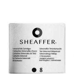 SHEAFFER - Sheaffer VFM Serisi Kartuş (Siyah) 93100