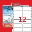 TANEX - TANEX 35x77mm BİLGİSAYAR ETİKETİ