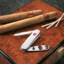 VICTORINOX ÇAKI - Victorinox 0.6580.16 Cigar Cutter, Alox Çakı (1)