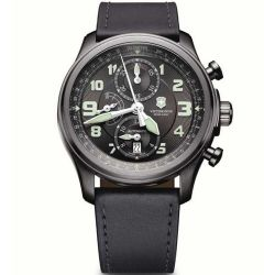 VICTORINOX SWISS ARMY - Victorinox Swiss Army 241526 Infantry Vintage Mechanical Chronograph Saat