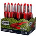 ZYLISS - Zyliss E950002 Soyacak ve Bıçak Kırmızı (Stand 12 Adet)